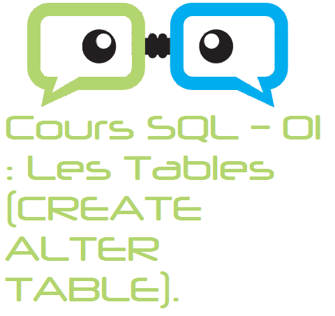 Cours Sql Oracle 01 Create Alter Table